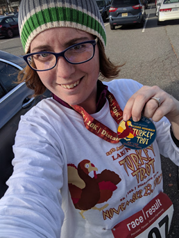 5k number 2 – Thanksgiving Day Turkey Trot!