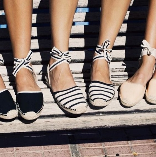 2d707315f0e you can t go wrong with a classic pair of espadrilles for summer. beyond  the basic slip ons there are gladiator sandals