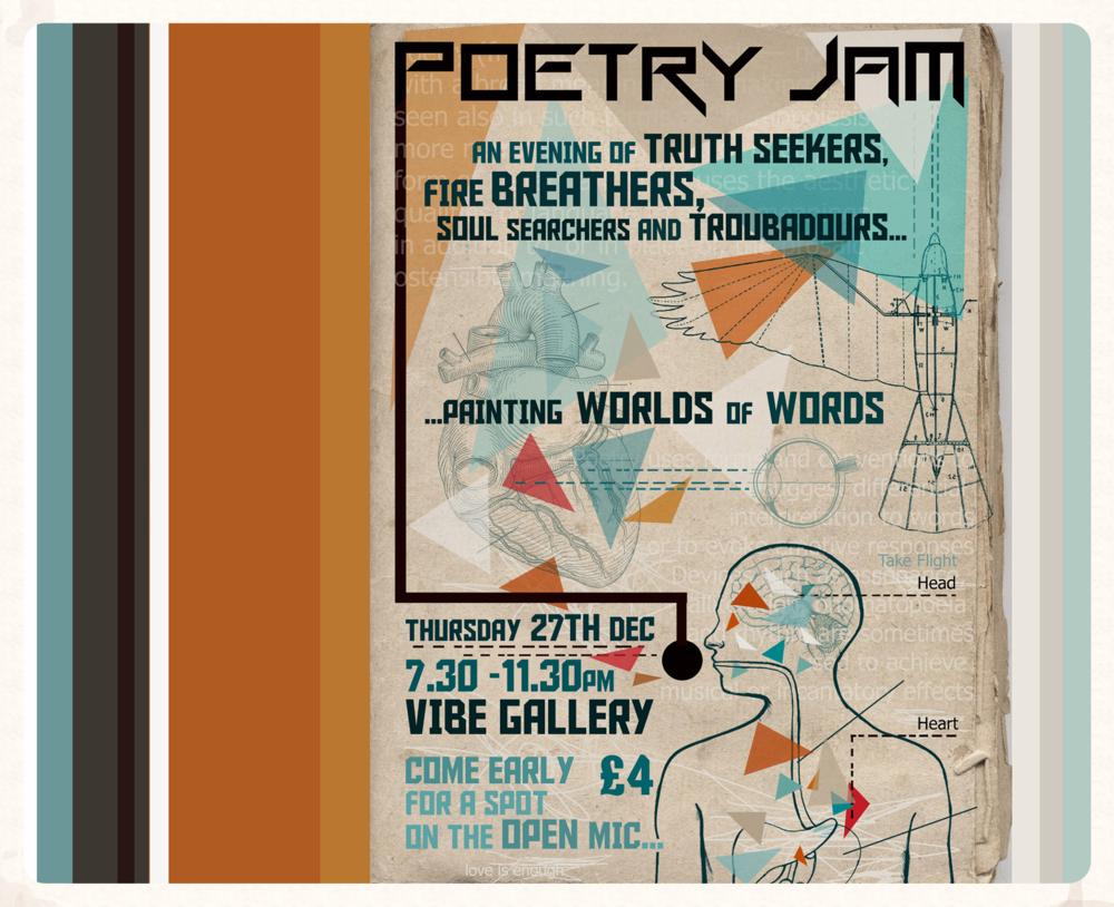 Poetry Jam - London
