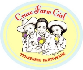 "Logo for ""Cruze Farm Girl"" created by Amy Campbell"