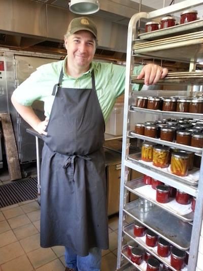 Shannon Walker is the preservation kitchen at Blackberry Farm.