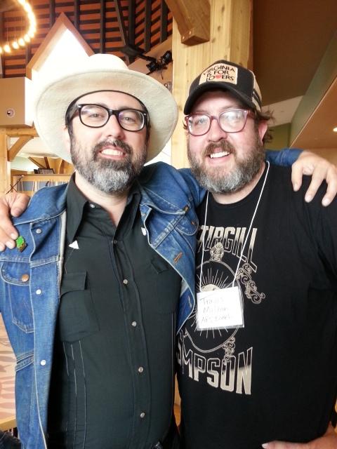 Brett Ratliff & Chef Travis Milton.
