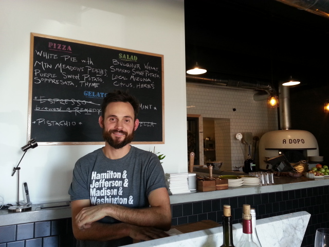 Brian Strutz, Owner of  A Dopo Sourdough Pizza , Downtown Knoxville, Tennessee.