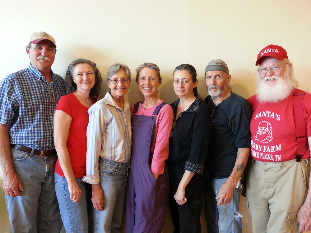 The group behind the Tellico Plains Farmer's Market  https://www.facebook.com/MCFarmMarket/
