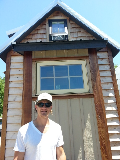 Matt Sterling  builds tiny homes!!!