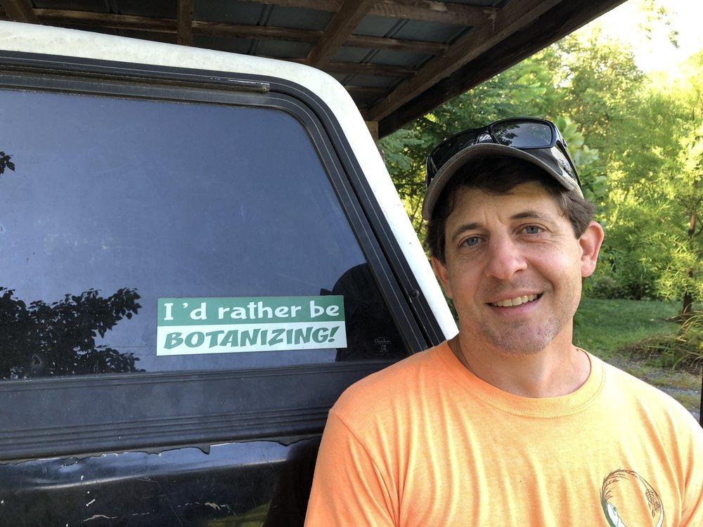 Avi Askey, Owner of Overhill Gardens, Monroe County, Tennessee - www.overhillgardens.com
