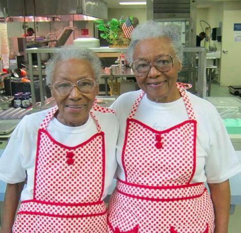 Ellen and Helen of The Love Kitchen. This picture was taken from their website:  https://www.thelovekitchen.org/