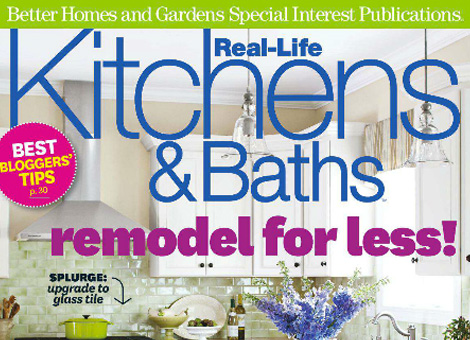 kitchen & bathroom feature in winter 2012 issue