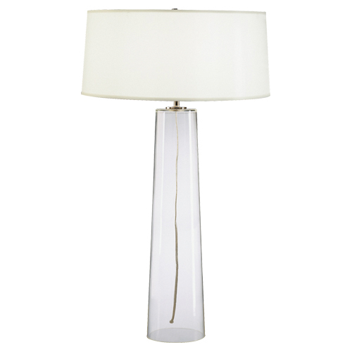 Exceptional Linda Tall Glass Table Lamp