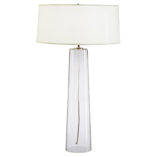 Beau Linda Tall Glass Table Lamp
