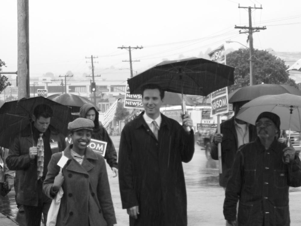Newsom for SF Mayor, 2003