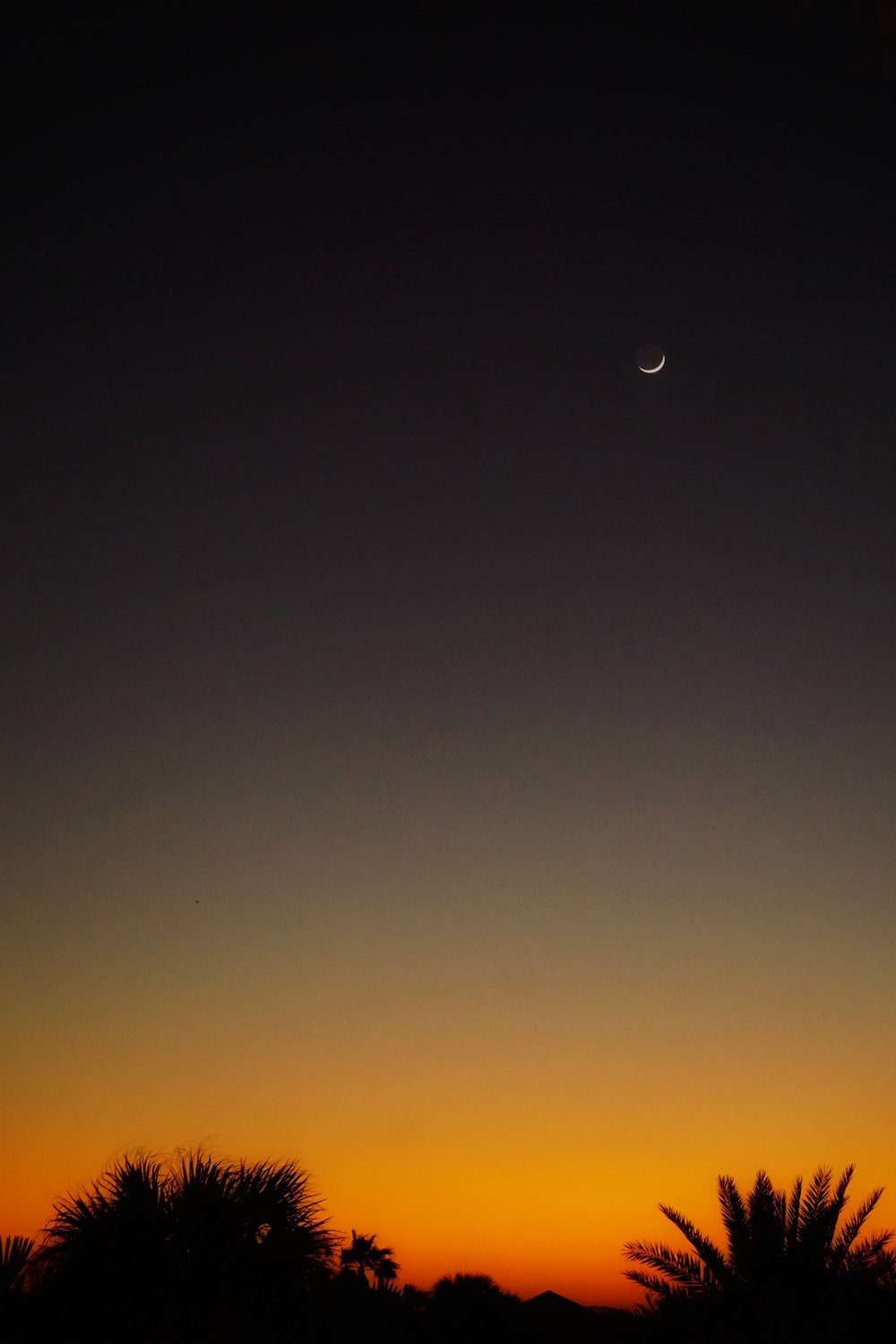 Sunset / Moonrise