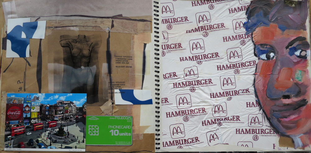 Classic McDonald's hamburger wrapper.