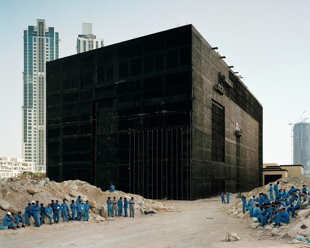 Bas Princen,Cooling plant, Dubai, 2009.