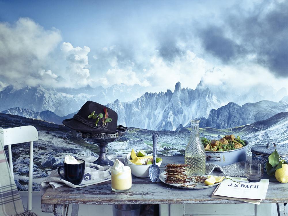 Peter Gordon's last meal. Photography: Emma Lee