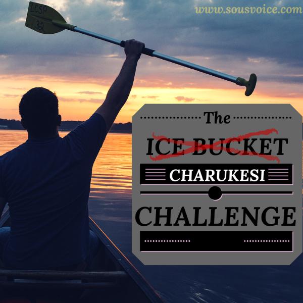 Ice bucket Charukesi challenge