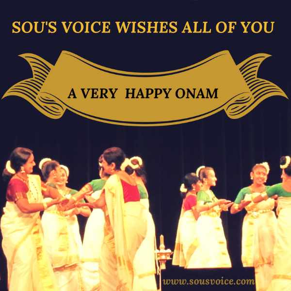 Happy Onam from Sou's Voice