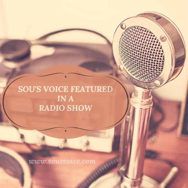 Sou's Voice featured in a radio show