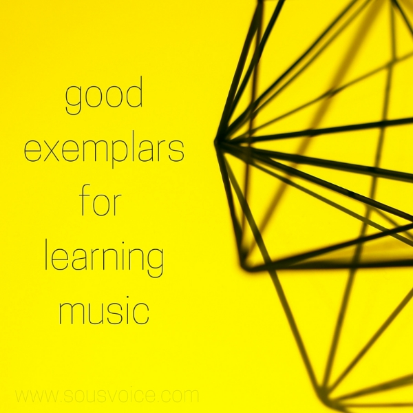 exemplars music classical sou's voice learning