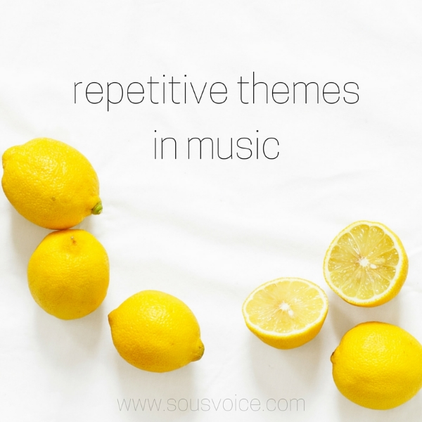 repetitive themes music sou's voice