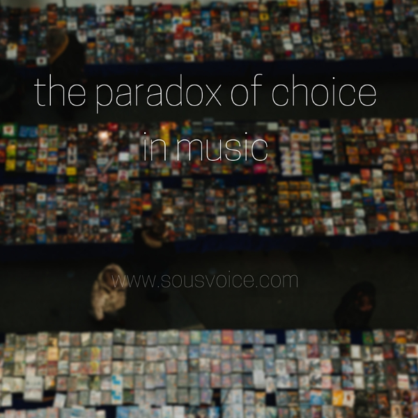 paradox choice music sou's voice