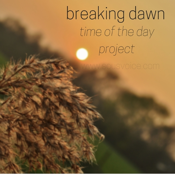 time of the day project breaking dawn sou's voice