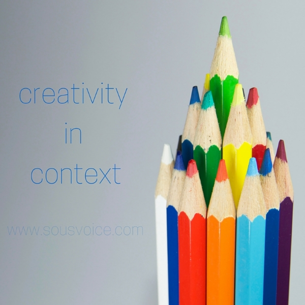 creativity in context sou's voice
