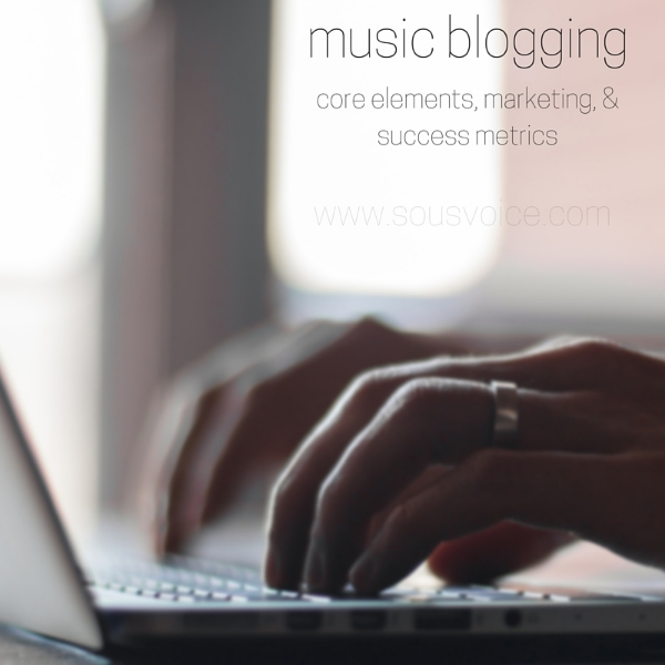 music blogging sou's voice
