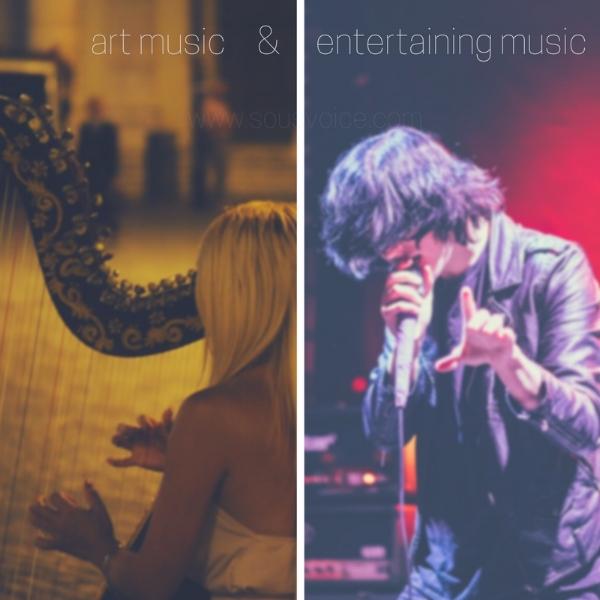 art music entertaining sou's voice