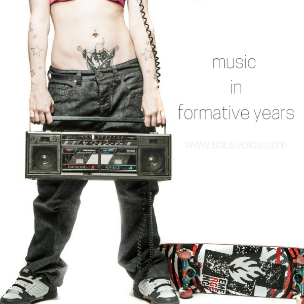 Music in formative years sou's voice