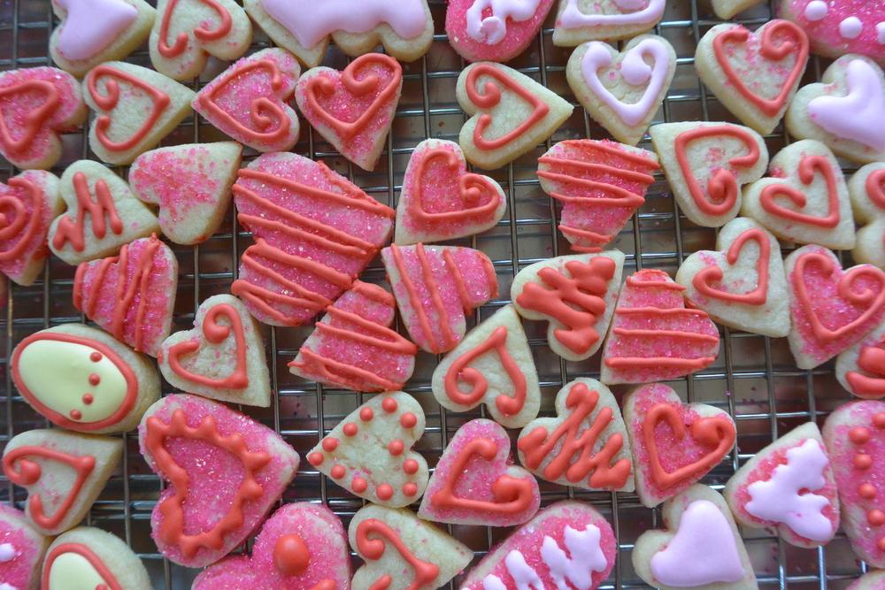 Cookie Practice - Mini Hearts, so cute!