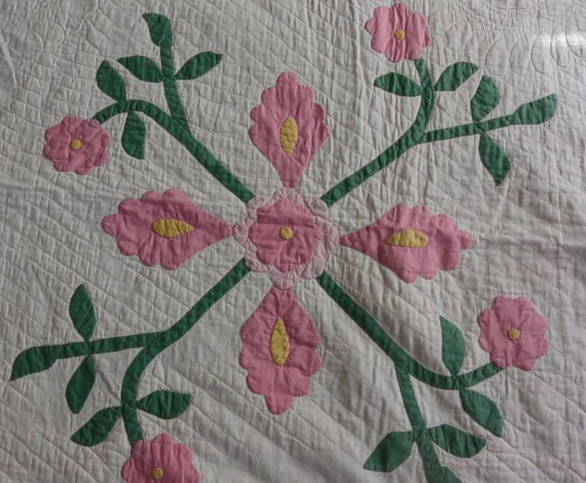 Flora's Quilt Detail