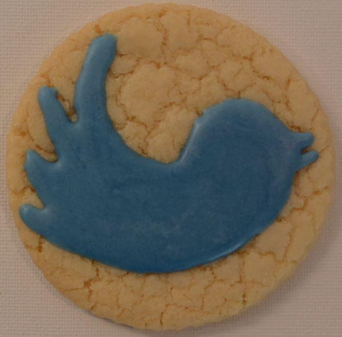 Twitter Bird - Done Freehand