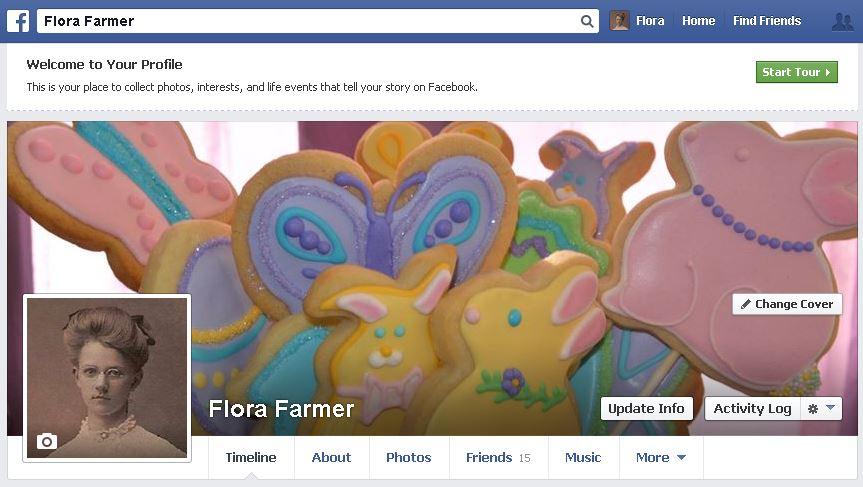 Flora's Bake Shop Facebook page