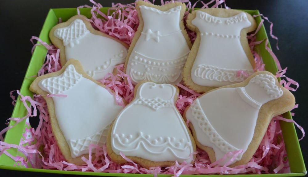 First Communion Dresses - Fancy Sugar Cookies