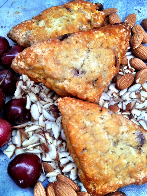 Cranberry Almond Scone - So Yummy!