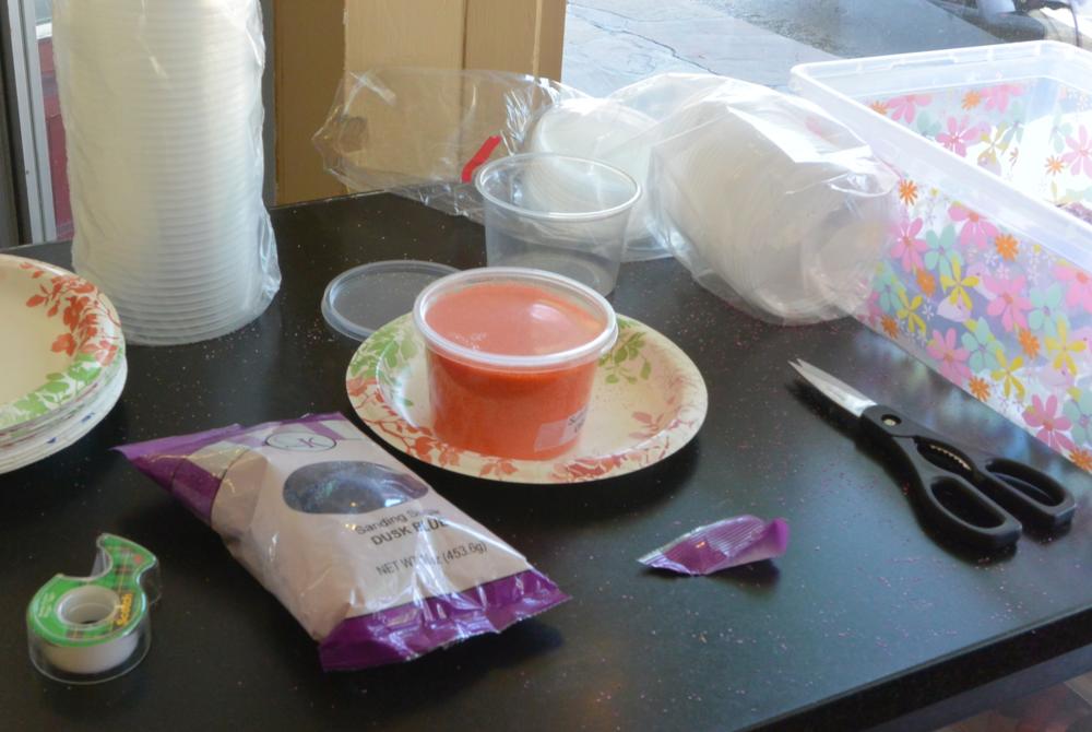 Decanting Sanding Sugar