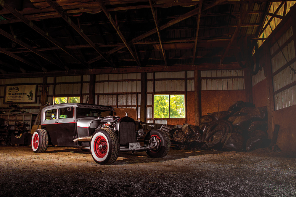 The Ultimate Recycle Job  (1928 Ford Tudor)