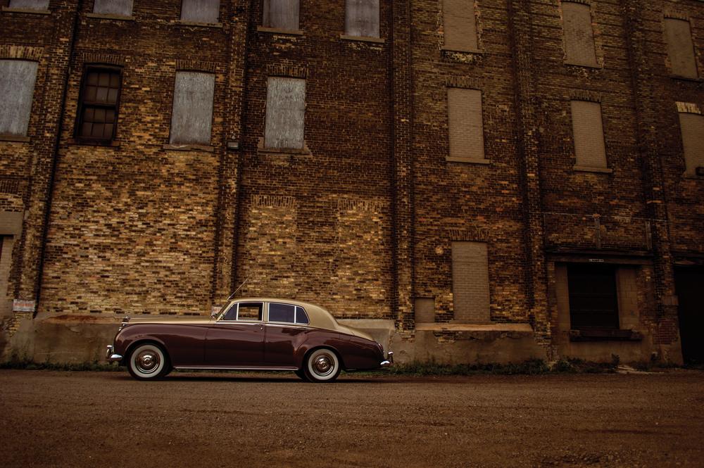 (1959 Rolls Royce Silver Cloud)