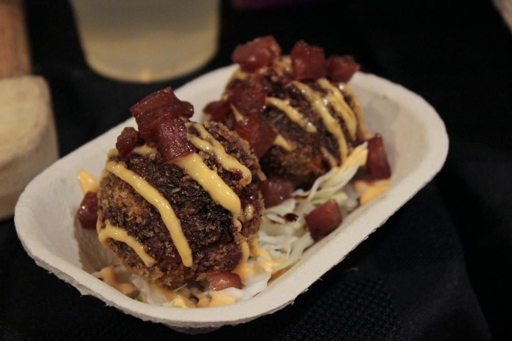 3 Jacked Pigs riceballs