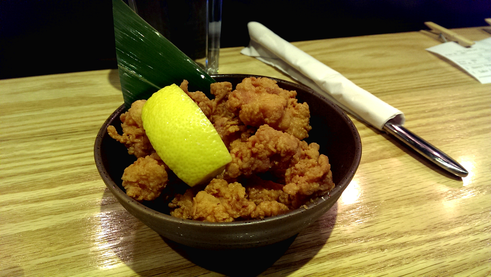 Nankotsu Karaage (deep fried cartilage)