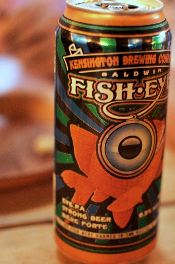 Baldwin FishEYE by Kensington Brewing Co