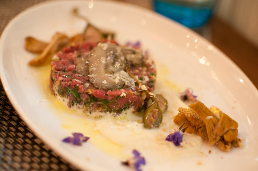 The Chase Fish & Oyster sirloin tartare