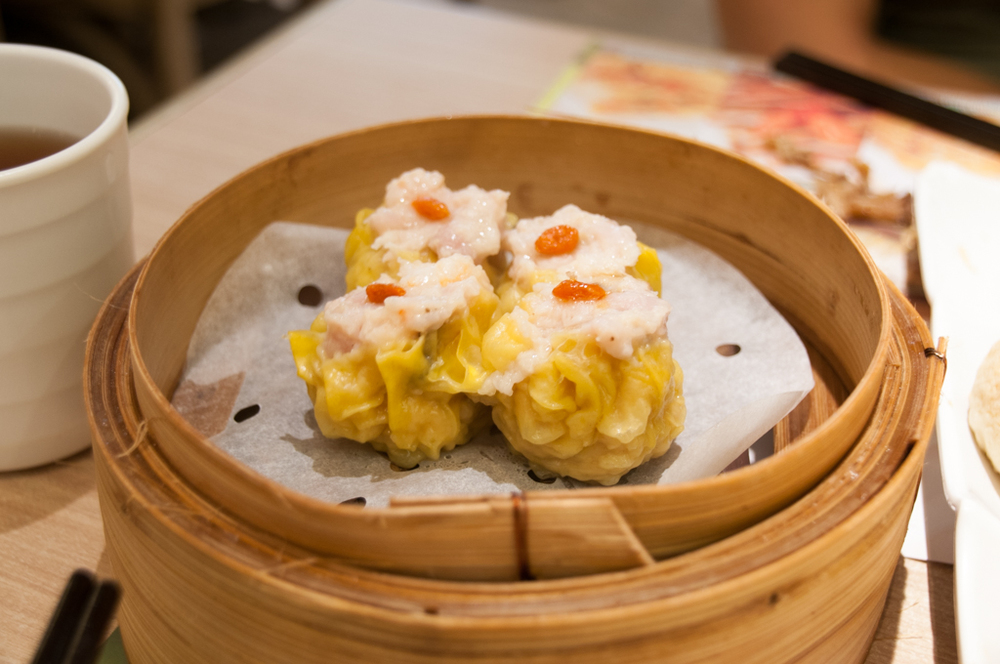 Siu Mai (steamed pork & shrimp dumplings)
