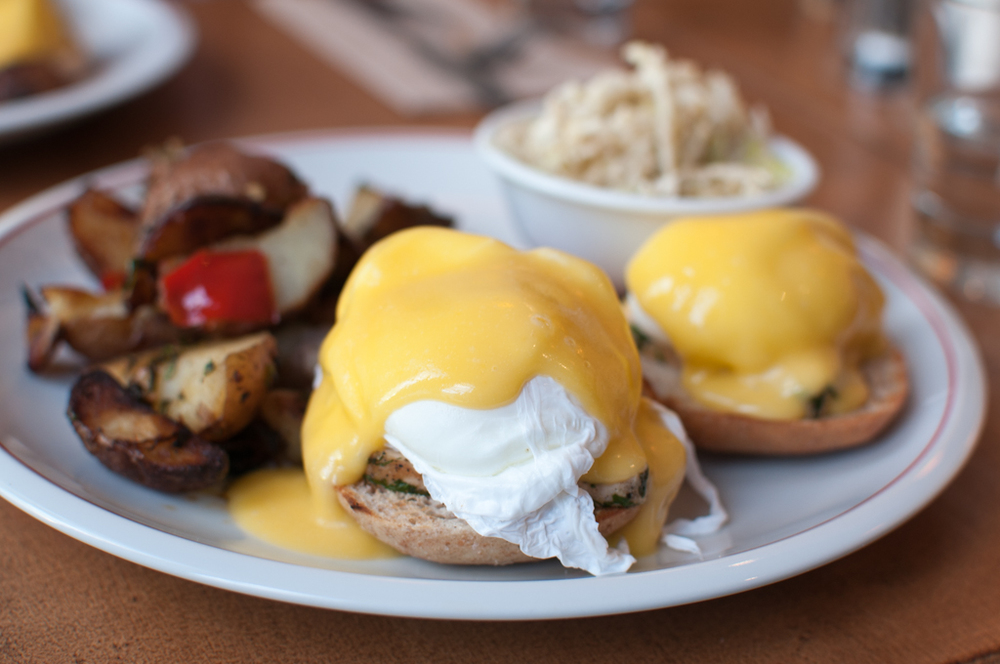 Harvest Kitchen Classic Eggs Benedict