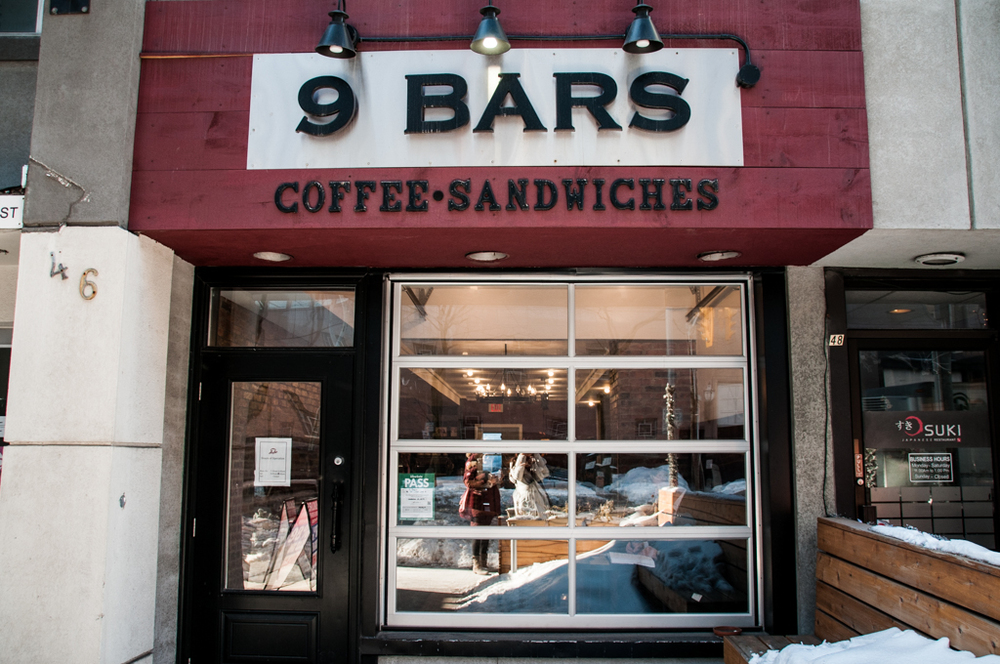 9 bars coffee toronto