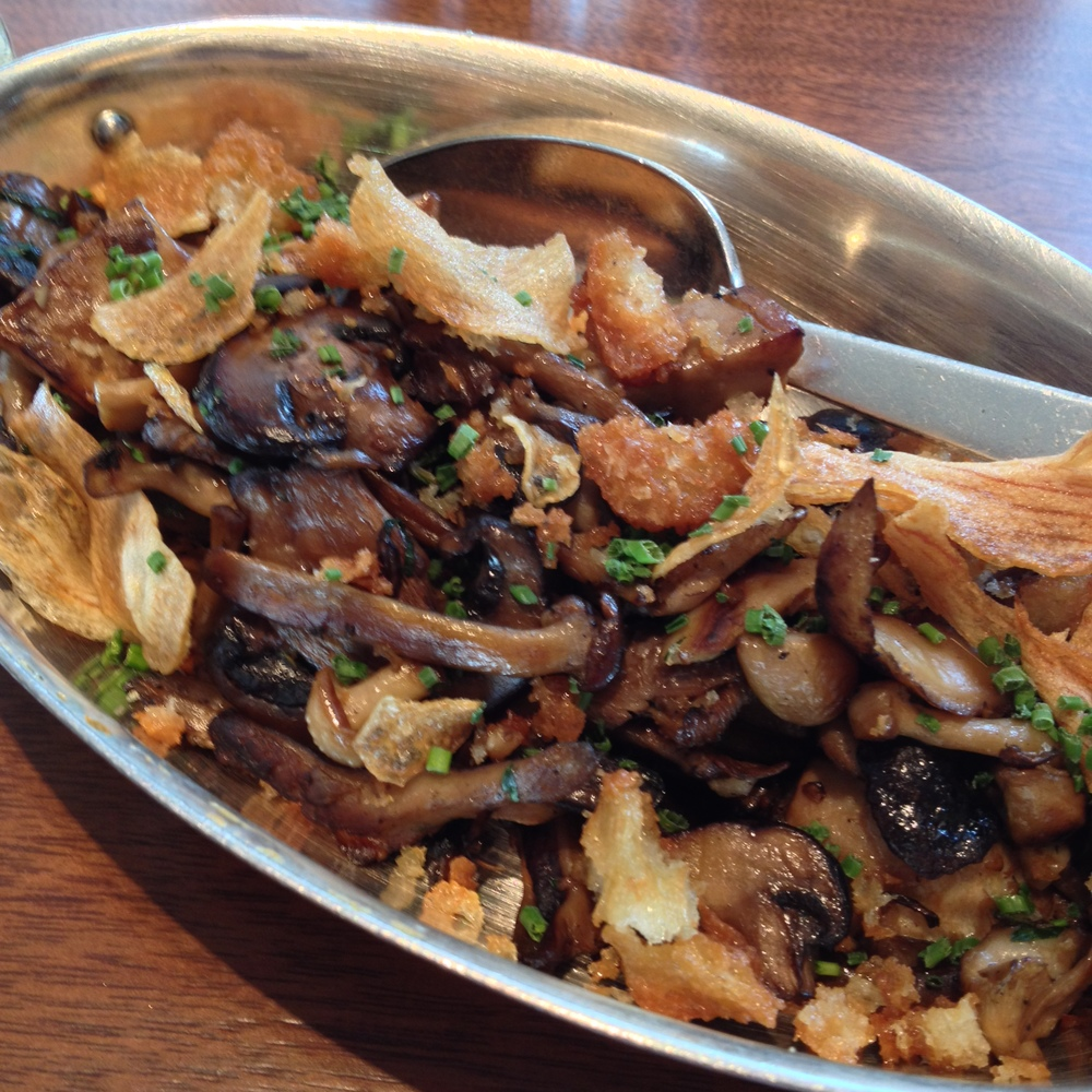 Roasted Wild Mushrooms