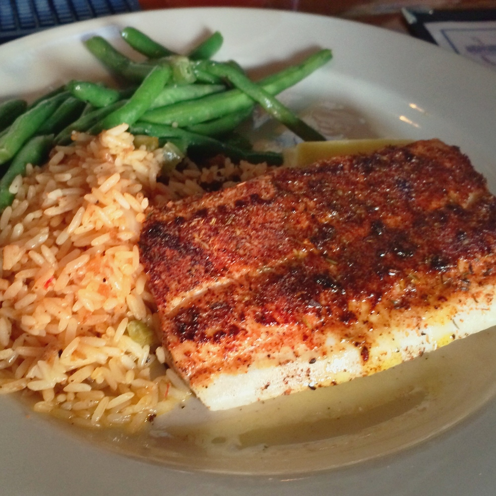Blackened Pecan Ginger Mahi Mahi
