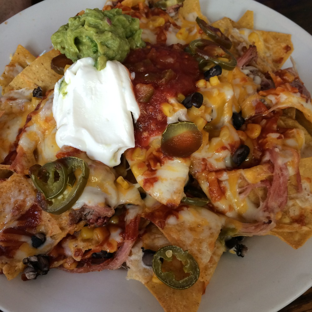 BBQ Nachos, Old Town Dispensary