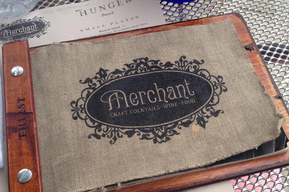 Merchant Menu